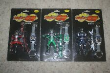 Masked Rider Ryuki Figure & Keychain lot of 3 by Unifive New Sealed