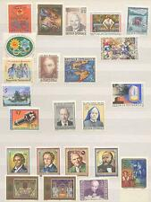 60+ AUSTRIAN MINT STAMPS-ALL IN SCHILLINGS