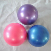 """Sale New Pilates Yoga 8"""" Blue Ball Fitness over ball bender.A*"""