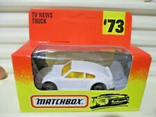 Matchbox Limited Edn WHITE GRAFFIC TRAFFIC BODY SWAPPER ?PORSCHE Nu in #73 Box