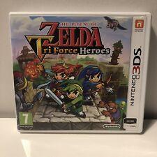 Nintendo 3DS The Legend of Zelda Tri force Heroes