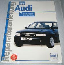 Reparaturanleitung Audi A4 1,6 + 1,8 L B5 Benziner, Front + Quattro, 1999-2001