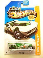 HW Drift Race. DRIFT ROD. White Rims. HW Stunt. 85/250.  New in Blister Pack!