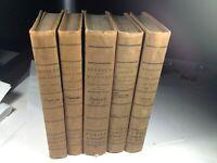 Harper's Family Library, 5 Volumes, 1838, #15248