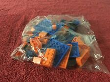 L Lego Minecraft #216 Crafting Box Orange and Blue  Parts Bag  New Sealed
