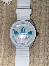 Adidas White Watch 2 Available