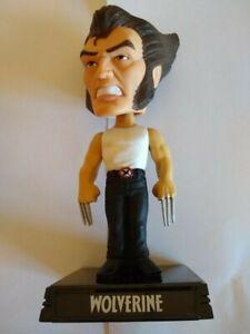 "Funko Marvel Comics X-Men Wolverine 7"" Wacky Wobbler Bobble Head 2009 Figure"