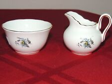 Grosvenor Bone China Jackson & Gosling Ltd Miniature Sugar and Creamer