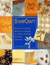 STAMPCRAFT Dozens of Creative Ideas for Stamping on Cards Clothing Furniture NEW