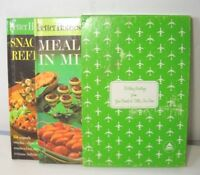DELTA AIRLINES Better Homes Gardens cookbook snacks refreshments Bday gift 1963