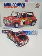 Burago - MINI COOPER  Monte Carlo  Scale 1:24 With Box