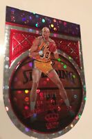 2017-18 CROWN ROYALE KAREEM ABDUL-JABAAR ROUNDBALL ROYALTY DIE CUT RED /75 SP
