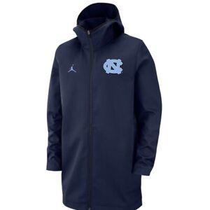 Jordan UNC North Carolina Tar Heels Basketball Player Protect Jacket Size L New