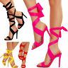 Scarpe donna sandali lacci schiava tacchi alti gladiatore sexy TOOCOOL 2B4L18223
