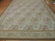 Lovely Large French Aubusson Style Area Rug 10x14 Oriental Area Rug