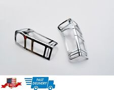 ISUZU D-MAX 2012-2015 CHROME TAIL LIGHT COVER