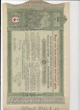 Historisches Wertpapier Magyar Verein vom rothen Kreuze Ungarn 1882