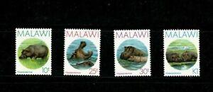 U0516 MALAWI 1987 Hippopotamus  MNH