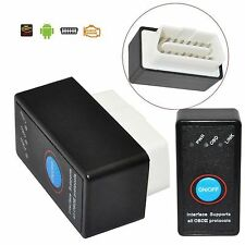 ELM327 Car Bluetooth OBD2 OBDII Android Auto Diagnostic Scanner Switch Interface