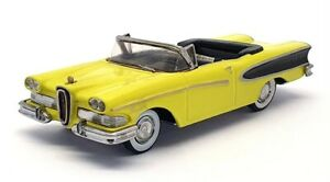 Zaugg Models Empire 1/43 Scale No.8 - 1958 Edsel Pacer - Yellow/Black
