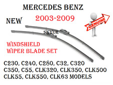 Windshield Wiper Blade Set For Mercedes C230 C240 C280 C55 CLK320 CLK350 CLK500