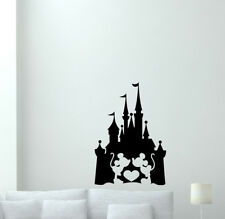 Disney Castle Wall Decal Mickey Mouse Minnie Poster Vinyl Sticker Decor 71thn