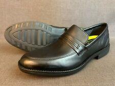Bostonian Birkett Way Flexlite Loafer Dress Shoes, Men's 10, Black Leather