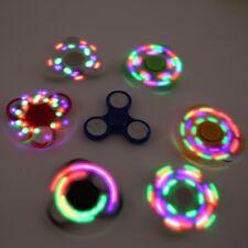 LED Light EDC Fidget Hand Spinner Toy Autism Jouet Anti-stress Focus Finger Gyro