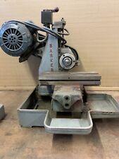 Barker Bench Top Milling Machine