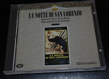 CD soundtack  LA NOTTE DI SAN LORENZO music NICOLA PIOVANI
