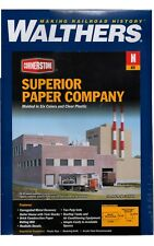 N Scale Walthers Cornerstone 933-3237 Superior Paper Company Building Kit