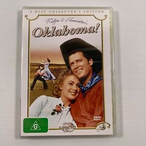 Oklahoma! (DVD 2006 2 disc-set) 1955 film Gloria Grahame Gene Nelson Region 4