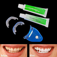 LED White Light Tooth Teeth Cleaner Whitening System Dental Set Whitelight Kit