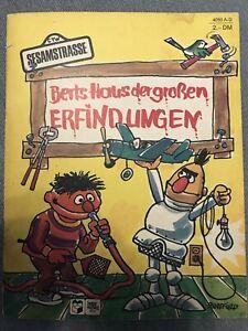 Berts Haus der grossen Erfindungen, Sesamstrasse, 1972, Sesame Street Vintage