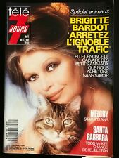 Télé 7 Jours 5/05/1990; Brigitte Bardot/ Mélody; Star à 13 ans/ Karl Zéro/ Bache
