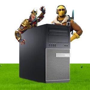 GAMING PC FAST GT 710 DELL HP 8GB RAM 500GB HDD INTEL i3 QUAD THREAD WIN 10 WiFi