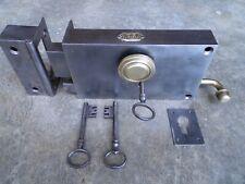 Ancienne serrure de porte complète,1,830 kg