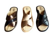 Pantofole donna aperte ciabatte comode estate zeppa pelle 35 36 37 38 39 40 41