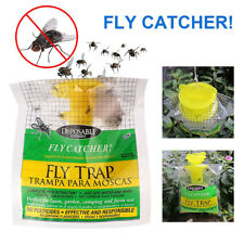 Disposable Fly Trap Bag Non Toxic Outdoor Insect Killer Pest Control Catcher
