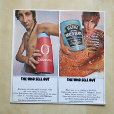 THE WHO Sell Out UK 1st press stereo vinyl LP with sticker and psych poster