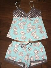 PJ Salvage Tank Top And Short Set Size L