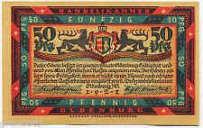 GERMANIA NOTGELD 50 PFENNIG  OLDENBURG 1921 FDS ANTON GÜNTHER