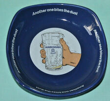 VINTAGE MANSFIELD BREWERY MARKSMAN BEER ASHTRAY CERAMIC WADE ENGLAND PDM