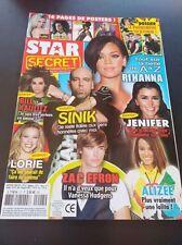 Star Secret Rihanna Britney Spears Alizee Jennifer Lopez Avril Lavigne Eva Lango