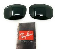 New Authentic Original RAY-BAN Replacement Lenses RB3445 G-15 Green 61mm