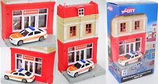 Herpa City/UniFortune AMORT City 800044 bmw m5 emergencias, conjunto de edificio con notaufna