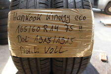 2x Sommerreifen 165/60 R14 75H Hankook Kinergy Eco DEMO DOT 1915