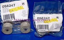 Set Of 2 New Genuine Bosch 056247, 00056247 Dishwasher Upper Dishrack Roller Kit