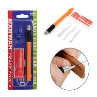 Mini Sharp Hobby Razor Saw Kit Multifunction Handy Craft Model Tools 3 Blades❤lo