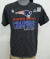 New England Patriots Super Bowl LII Champions ERROR THEY LOST! T Shirt NWT $40 L